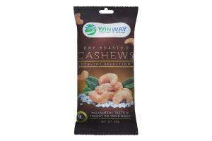 Кеш'ю смажений солоний Winway м/у 60г