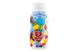Йогурт 1.5% питний з пробіотиком Яблуко-груша Растішка п/пл 185г