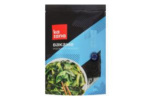 Водоросли морские сухие для суши и салатов Вакаме Katana д/п 20г