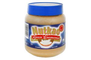 Паста молочно-горіхова Nutkao п/б 350г