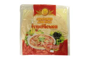 Заготовка для піцци Італійська Надзбруччя хліб 200г
