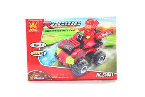 Іграшка Wange конструктор Квадроцикл червоний 24081
