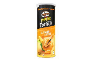 Чiпси кукурудзянi Tortilla Pringles к/у 160г