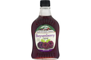 Maple Grove Farms Of Vermont Boysenberry Syrup