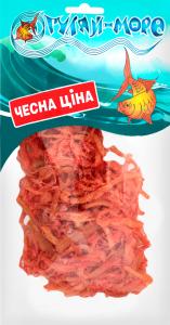 Кальмар солоно-сушений стружка з перцем Гуляй Море м/у 100г