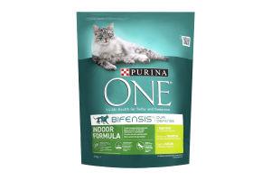 Корм для котів One Індор індичка 8*800г
