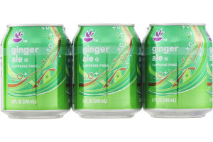 Ahold Ginger Ale Soda - 6 CT