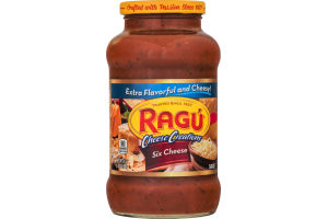 Ragu Cheese Creations Sauce Six Cheese