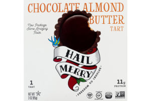 Hail Merry Chocolate Almond Butter Miracle Tart