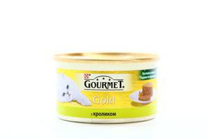 Корм д/кот Gourmet gold кролик по-французски ж/б ключ 85г