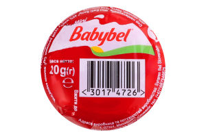 Сыр 45% полутвердый Mini Babybel м/у 20г