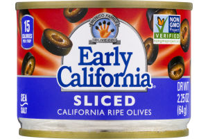 Musco Family Early California Sliced California Ripe Olives