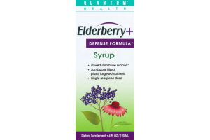Quantum Health Elderberry Defense Formula Syrup