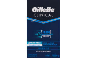 Gillette Clinical Anti-Perspirant/Deodorant Ultimate Fresh