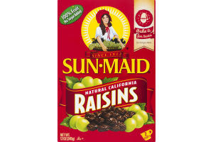 Sun-Maid Natural California Raisins