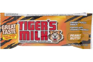 Tiger's Milk Peanut Butter