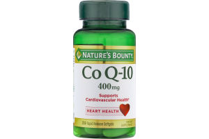 Nature's Bounty Co Q-10 400mg Dietary Supplement Softgels - 39 CT