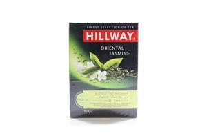Чай зеленый листовой с ароматом жасмина Oriental Jasmine Hillway к/у 100г
