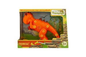 Конструктор для детей от 3лет №77158 Динозавр Полесье 1шт