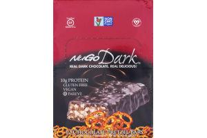 NuGo Dark Chocolate Pretzel With Sea Salt Protein Bars - 12 CT