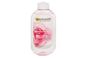 Тоник для лица успокаивающий Экстракт розы Основной уход Garnier 200мл