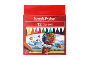 Н-р карандашей крайонов Memoris Precious А27 12шт