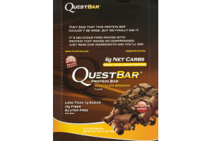 Quest Bar Protein Bar Chocolate Brownie - 12 CT