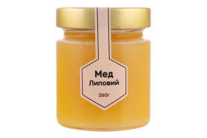 Мед Липовий Медова еліта с/б 260г