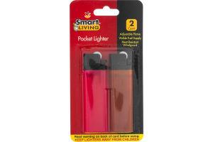 Smart Living Pocket Lighters - 2 CT