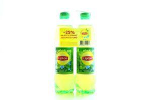 Чай холодний Lipton зелений 2*1л х3