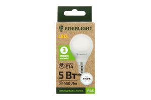 Лампа світлодіодна Enerlight P45 5Вт 4100K E14
