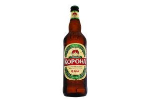 Пиво 0.65л 3.9% светлое Галицька Корона бут