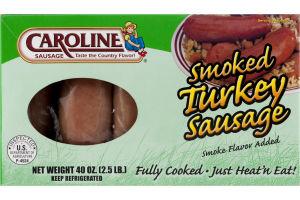 Caroline Sausage Smoked Turkey Sausage