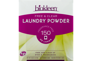 Biokleen Free & Clear Laundry Powder