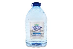 Вода питна негазована Корона Карпат п/пл 6л