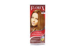 Крем-краска для волос Лесной орех №3.4 Florex Super