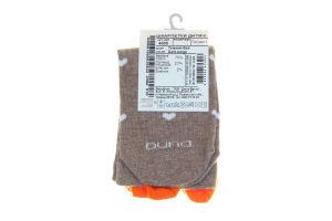Шкарпетки дитячі Kids Duna темно-бежеві 22-24