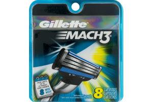 Gillette Mach3 Cartridges - 8 CT