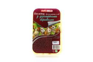 Оселедець РыбоLove філе-шматочки з духм'яними трава 200г х12