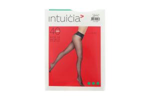 Колготки жіночі Intuicia Bikini LW 40den 2 black