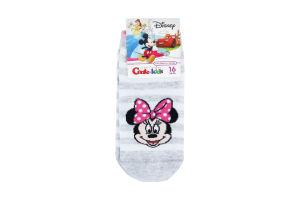Носки дет Conte-kids Disney 17С127 с.серый р16 343
