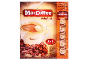 Напиток кофейный растворимый 3в1 Original MacCoffee м/у 20г