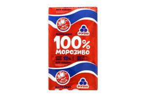 Мороженое 100% Рудь 90г