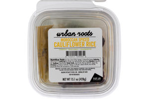 Urban Roots Cauliflower Rice Moroccan Spiced