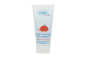 Зубная паста для детей от 2лет Волшебный гель Ziaja Baby 50мл