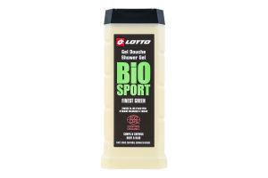 Гель для душа мужской Bio sport Finest Green Lotto 450мл