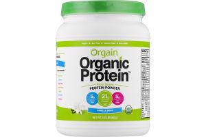 Orgain Organic Protein Plant Based Powder Vanilla Bean