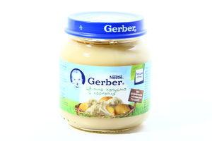 Пюре для детей от 5мес Цветная капуста и картофель Gerber с/б 130г