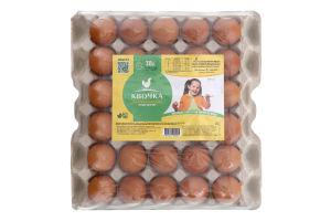 Яйця курячі харчові столові С1 Квочка м/у 30шт