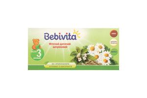 Чай дитячий фіточай з 3-х місяців Bebivita 30г